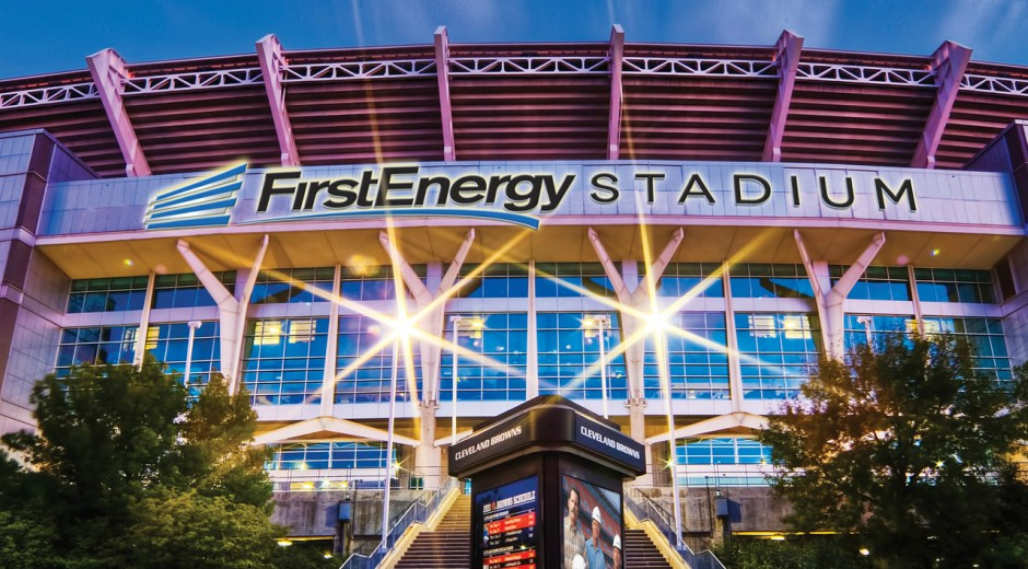 Christmas At Firstenergy Stadium 2021 Cleveland Browns