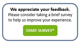 Survey for customer feedback
