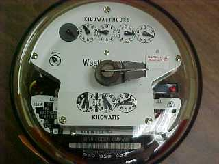 how to get your electric meter reading