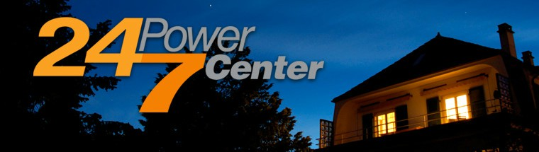 Home and FirstEnergy's 24/7 Power Center logo