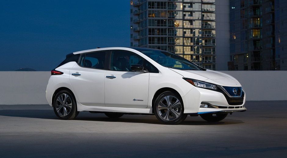 Nissan LEAF Plus Vehicle