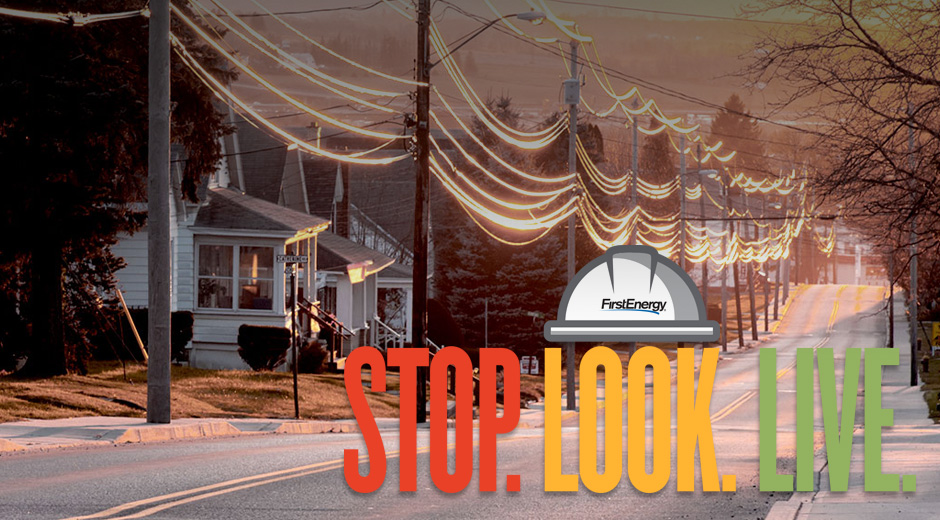 Stop Look Live Campaign