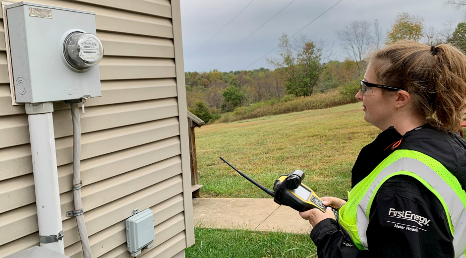 Amanda Leek FirstEnergy Meter Reader