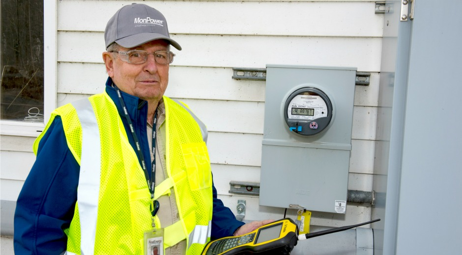 80-Year-Old Meter Reader Has No Plans to Slow Down