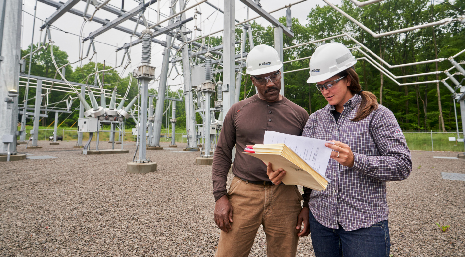 Penn Power performs substation inspections