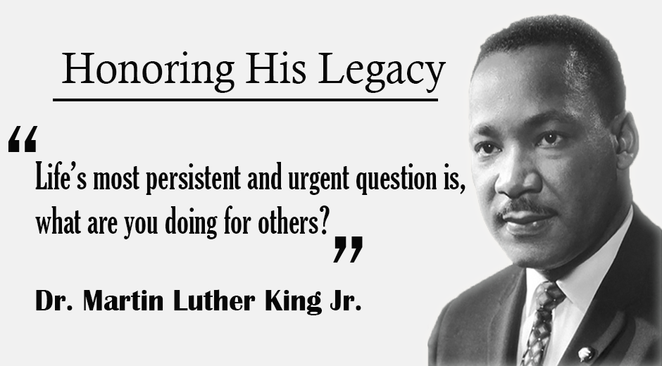 Dr. Martin Luther King Jr. Graphic