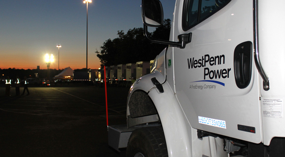 West Penn Power Truck