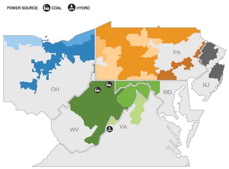 Wv Power Outage Map.Generation System